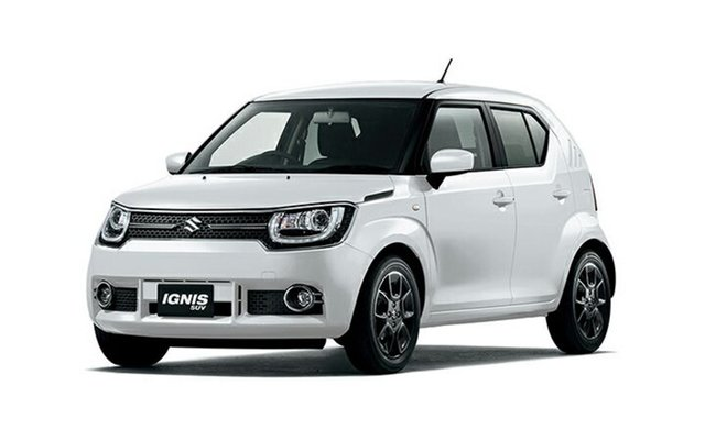 New Suzuki Ignis MF GLX, 2019 Suzuki Ignis MF GLX Pure White Pearl 1 Speed Constant Variable Hatchback