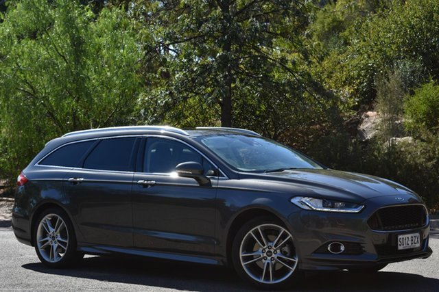 Used Ford Mondeo MD 2018.25MY Titanium PwrShift, 2018 Ford Mondeo MD 2018.25MY Titanium PwrShift Charcoal 6 Speed Sports Automatic Dual Clutch Wagon