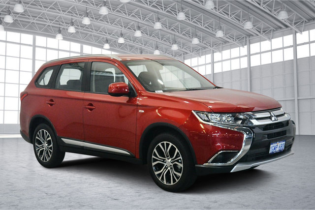 Used Mitsubishi Outlander ZL MY18.5 ES 2WD, 2018 Mitsubishi Outlander ZL MY18.5 ES 2WD Red 6 Speed Constant Variable Wagon