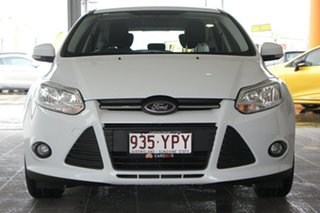 2012 Ford Focus LW Trend PwrShift White 6 Speed Sports Automatic Dual Clutch Hatchback