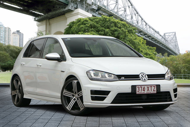 Used Volkswagen Golf VII MY15 R 4MOTION, 2015 Volkswagen Golf VII MY15 R 4MOTION White 6 Speed Manual Hatchback