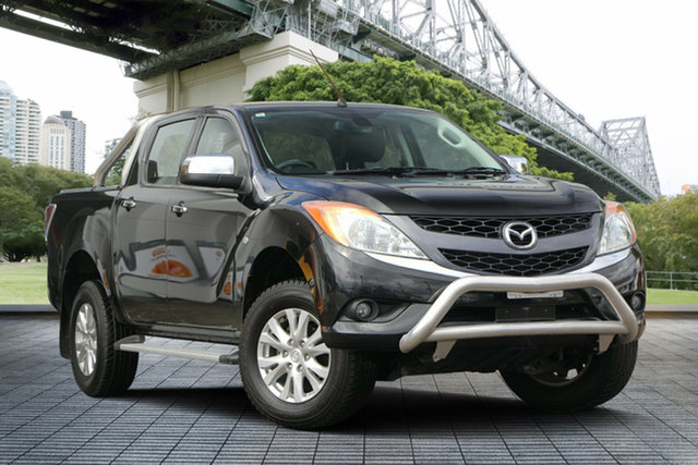 Used Mazda BT-50 UP0YF1 GT, 2014 Mazda BT-50 UP0YF1 GT Black/Grey 6 Speed Sports Automatic Utility