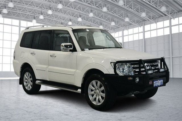 Used Mitsubishi Pajero NT MY10 Exceed, 2010 Mitsubishi Pajero NT MY10 Exceed White 5 Speed Sports Automatic Wagon