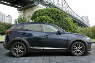 2015 Mazda CX-3 DK2W7A Akari SKYACTIV-Drive Blue 6 Speed Sports Automatic Wagon.