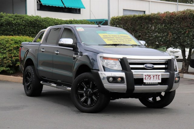 Used Ford Ranger PX XLT Double Cab, 2013 Ford Ranger PX XLT Double Cab Grey 6 Speed Sports Automatic Utility