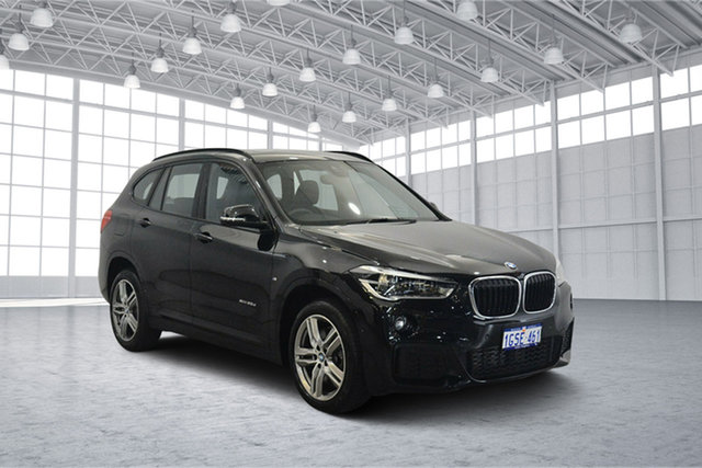 Used BMW X1 F48 xDrive20d Steptronic AWD, 2016 BMW X1 F48 xDrive20d Steptronic AWD Black 8 Speed Sports Automatic Wagon