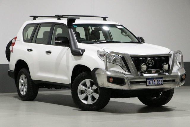 Used Toyota Landcruiser Prado GDJ150R MY16 GX (4x4), 2015 Toyota Landcruiser Prado GDJ150R MY16 GX (4x4) White 6 Speed Automatic Wagon