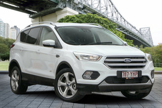 2018 Ford Escape ZG 2018.75MY Trend PwrShift AWD White 6 Speed Sports Automatic Dual Clutch Wagon.