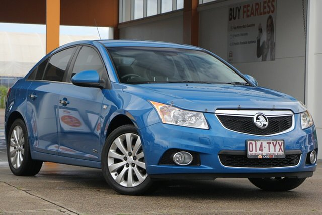 Used Holden Cruze JH Series II MY14 Z Series, 2014 Holden Cruze JH Series II MY14 Z Series Blue 6 Speed Sports Automatic Sedan