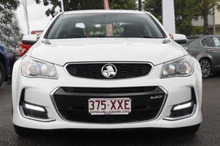 2016 Holden Commodore VF II MY16 SS V White 6 Speed Sports Automatic Sedan.