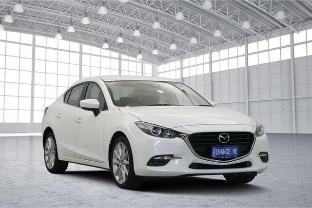 Used Mazda 3 BN5236 SP25 SKYACTIV-MT, 2018 Mazda 3 BN5236 SP25 SKYACTIV-MT White 6 Speed Manual Sedan