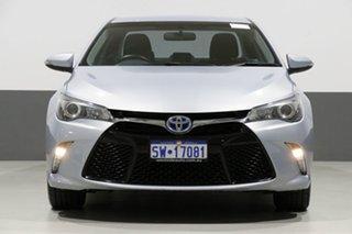 2015 Toyota Camry AVV50R MY15 Atara S Hybrid Silver Continuous Variable Sedan.