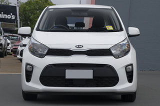 2018 Kia Picanto JA MY19 S Clear White 4 Speed Automatic Hatchback
