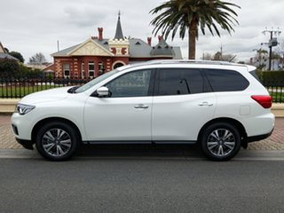2018 Nissan Pathfinder R52 Series III MY19 ST-L X-tronic 2WD Ivory Pearl 1 Speed Constant Variable.