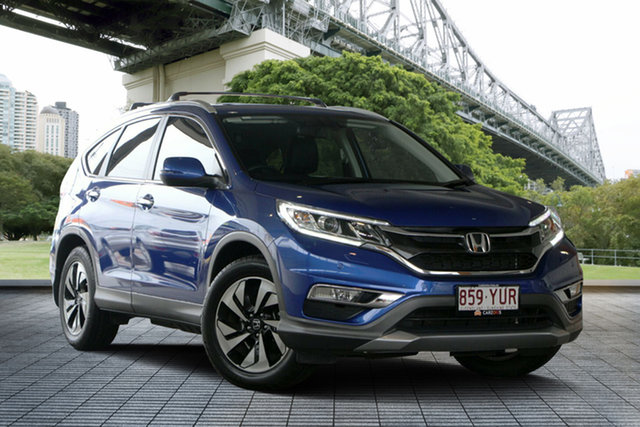 Used Honda CR-V RM Series II MY17 VTi-L, 2016 Honda CR-V RM Series II MY17 VTi-L Blue 5 Speed Sports Automatic Wagon