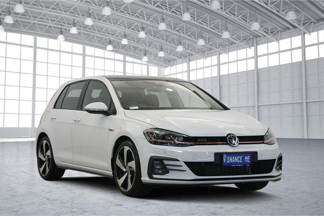 Used Volkswagen Golf 7.5 MY18 GTI DSG, 2017 Volkswagen Golf 7.5 MY18 GTI DSG White 6 Speed Sports Automatic Dual Clutch Hatchback