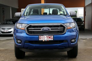 2018 Ford Ranger PX MkIII 2019.00MY XLS Pick-up Double Cab Blue 6 Speed Sports Automatic Utility