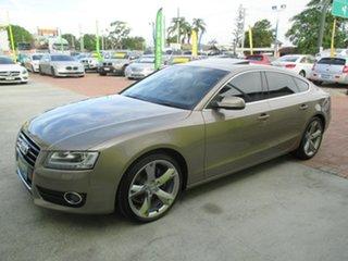 2010 Audi A5 8T MY11 Sportback S Tronic Quattro Gold 7 Speed Sports Automatic Dual Clutch Hatchback.