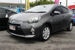 2012 Toyota Prius c NHP10R i-Tech E-CVT Magnetic Grey 1 Speed Constant Variable Hatchback Hybrid.