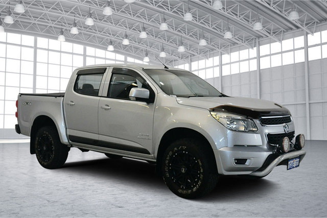 Used Holden Colorado RG MY13 LT Crew Cab, 2013 Holden Colorado RG MY13 LT Crew Cab Silver 6 Speed Sports Automatic Utility