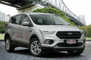 2018 Ford Escape ZG 2018.75MY Ambiente 2WD Silver 6 Speed Sports Automatic Wagon.