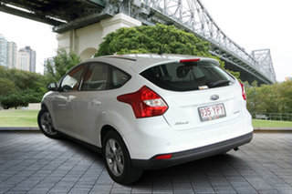 2012 Ford Focus LW Trend PwrShift White 6 Speed Sports Automatic Dual Clutch Hatchback.