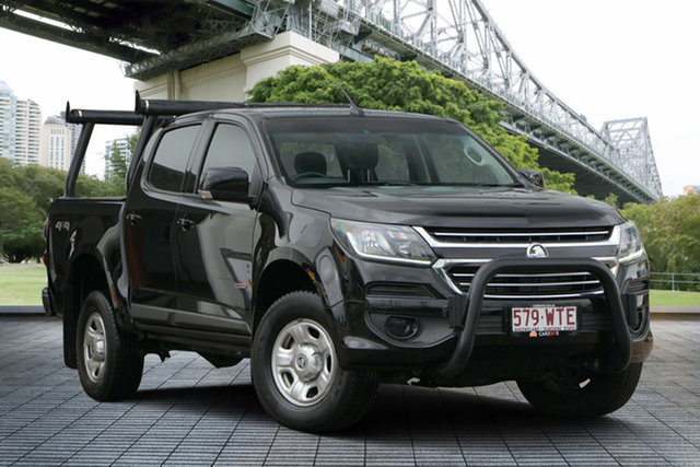 Used Holden Colorado RG MY16 LS Crew Cab 4x2, 2016 Holden Colorado RG MY16 LS Crew Cab 4x2 Black 6 Speed Sports Automatic Utility