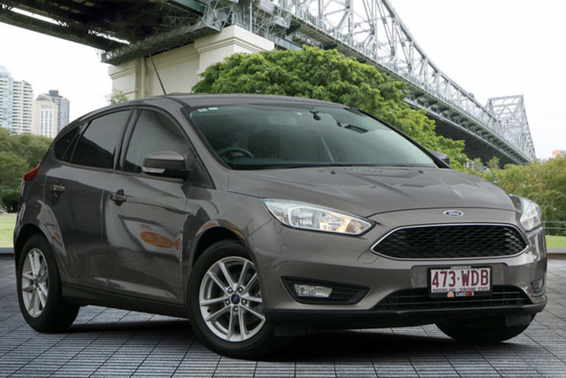 Used Ford Focus LZ Trend, 2015 Ford Focus LZ Trend Brown 6 Speed Manual Hatchback