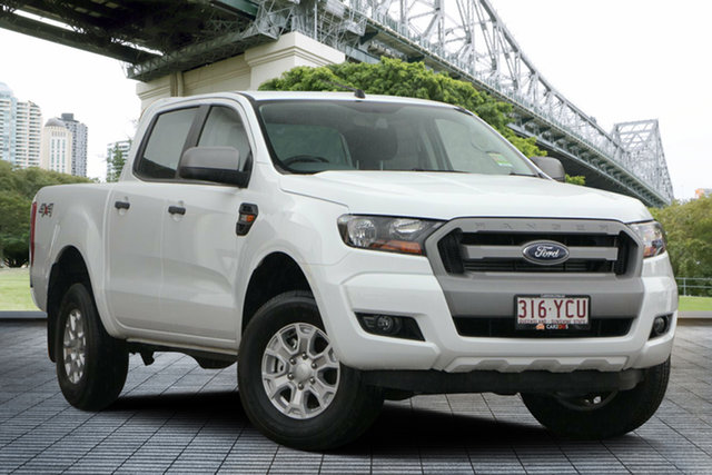 Used Ford Ranger PX MkII 2018.00MY XLS Double Cab, 2018 Ford Ranger PX MkII 2018.00MY XLS Double Cab White 6 Speed Sports Automatic Utility