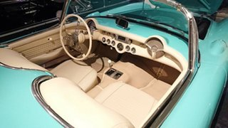 1956 Chevrolet Corvette Turquoise 3 Speed Manual Convertible