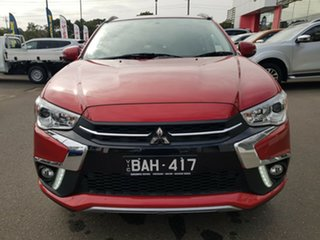 2017 Mitsubishi ASX XC MY17 LS Red Continuous Variable Wagon.