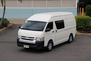 2014 Toyota HiAce KDH221R MY14 Super LWB French Vanilla 4 Speed Automatic Van