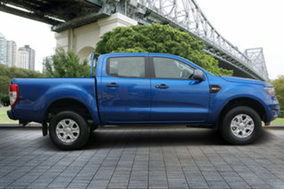 2018 Ford Ranger PX MkIII 2019.00MY XLS Pick-up Double Cab Blue 6 Speed Sports Automatic Utility.