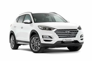 2018 Hyundai Tucson TL3 MY19 Elite 2WD Pure White 6 Speed Automatic Wagon.