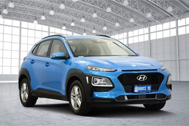 Used Hyundai Kona OS.2 MY19 Active 2WD, 2018 Hyundai Kona OS.2 MY19 Active 2WD Blue 6 Speed Sports Automatic Wagon