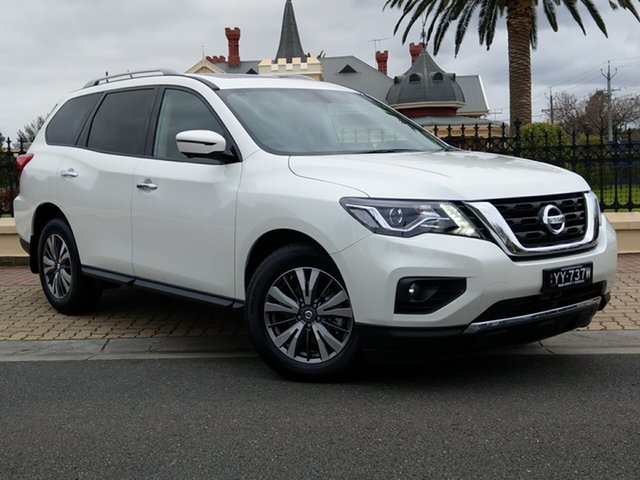 Demo Nissan Pathfinder R52 Series III MY19 ST-L X-tronic 2WD, 2018 Nissan Pathfinder R52 Series III MY19 ST-L X-tronic 2WD Ivory Pearl 1 Speed Constant Variable