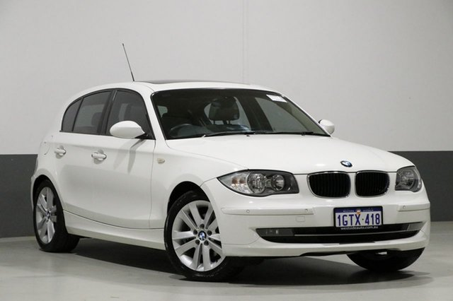 Used BMW 120i E87 MY09 , 2009 BMW 120i E87 MY09 White 6 Speed Automatic Hatchback