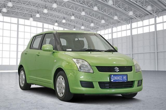 Used Suzuki Swift FZ GA, 2011 Suzuki Swift FZ GA Green 5 Speed Manual Hatchback