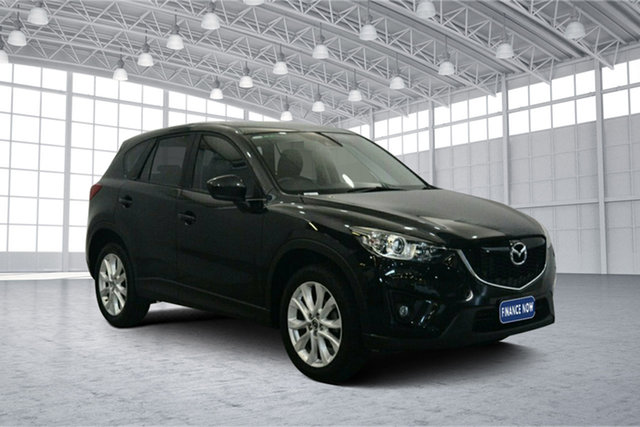 Used Mazda CX-5 KE1071 Grand Touring SKYACTIV-Drive AWD, 2012 Mazda CX-5 KE1071 Grand Touring SKYACTIV-Drive AWD Black 6 Speed Sports Automatic Wagon