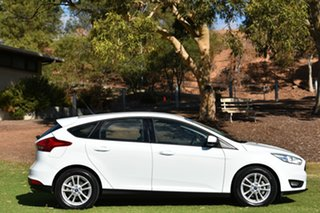 2015 Ford Focus LZ Trend White 6 Speed Automatic Hatchback.