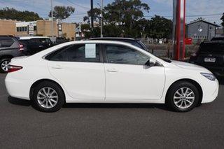2017 Toyota Camry ASV50R Altise Diamond White 6 Speed Sports Automatic Sedan.