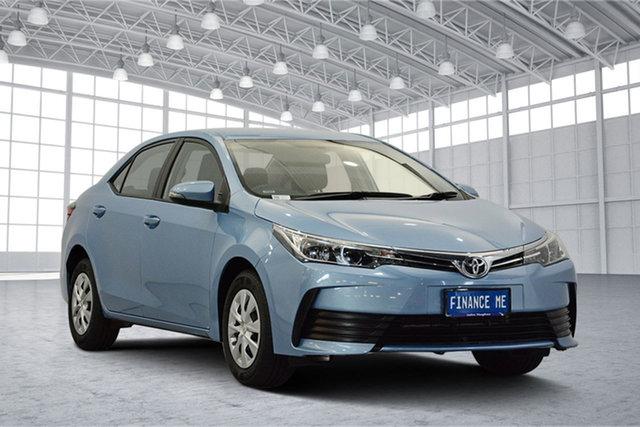 Used Toyota Corolla ZRE172R Ascent S-CVT, 2017 Toyota Corolla ZRE172R Ascent S-CVT Blue 7 Speed Constant Variable Sedan