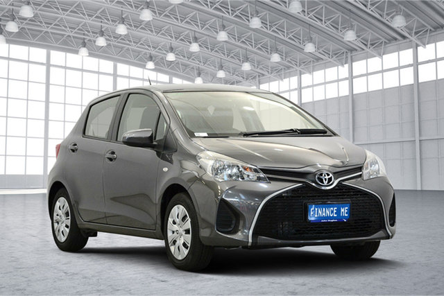 Used Toyota Yaris NCP130R Ascent, 2017 Toyota Yaris NCP130R Ascent Grey 4 Speed Automatic Hatchback