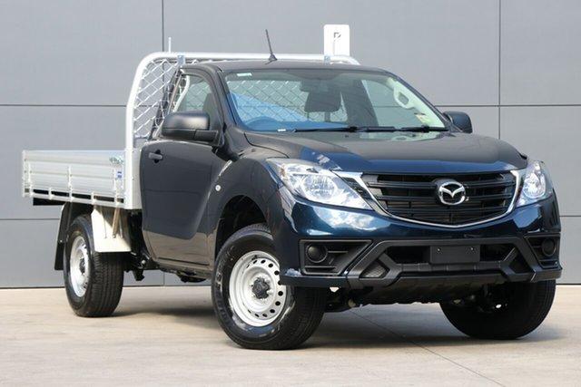 New Mazda BT-50 UR0YE1 XT 4x2 Hi-Rider, 2019 Mazda BT-50 UR0YE1 XT 4x2 Hi-Rider Deep Crystal Blue 6 Speed Sports Automatic Cab Chassis