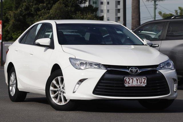 Used Toyota Camry ASV50R Altise, 2017 Toyota Camry ASV50R Altise Diamond White 6 Speed Sports Automatic Sedan