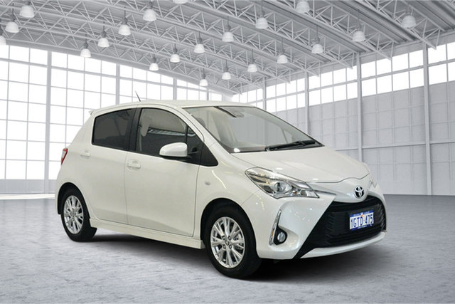 Used Toyota Yaris NCP131R ZR, 2018 Toyota Yaris NCP131R ZR White 4 Speed Automatic Hatchback