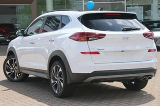 2020 Hyundai Tucson TL3 MY20 Highlander AWD Pure White 8 Speed Sports Automatic Wagon.