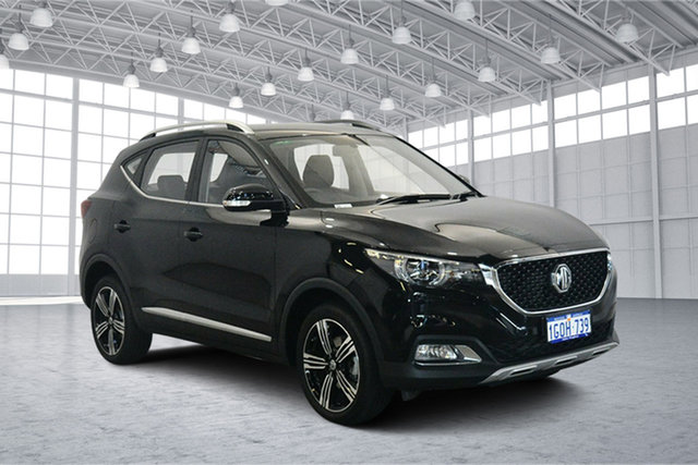 Used MG ZS AZS1 Excite 2WD, 2018 MG ZS AZS1 Excite 2WD Pebble Black 4 Speed Automatic Wagon