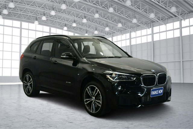 Used BMW X1 F48 xDrive25i Steptronic AWD, 2017 BMW X1 F48 xDrive25i Steptronic AWD Black 8 Speed Sports Automatic Wagon
