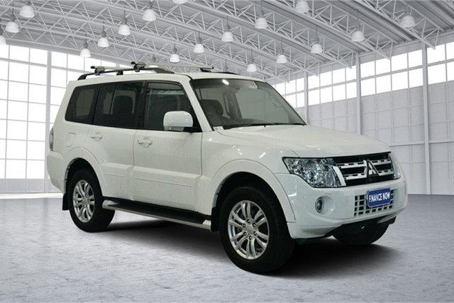 Used Mitsubishi Pajero NW MY13 VR-X, 2013 Mitsubishi Pajero NW MY13 VR-X White 5 Speed Sports Automatic Wagon